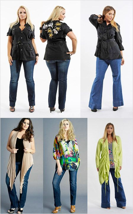 18 best Plus Size Jeans In Tall images on Pinterest | Plus size ...