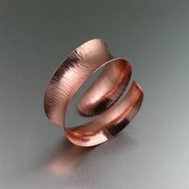 Chased Copper Anticlastic Bangle BraceletCopper Bracelets, Chase Copper, Copper Anticlastic, Anniversaries Gift, Copper Cuffs, Copper Jewelry, Bangles Bracelets, Bangle Bracelets, Anticlastic Bangles