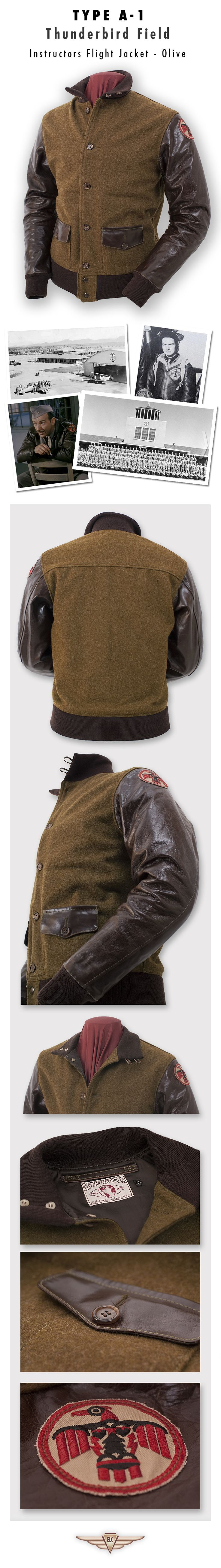 Eastman Leather Clothing - Civilian Design Classics : Tb A-1 Olv