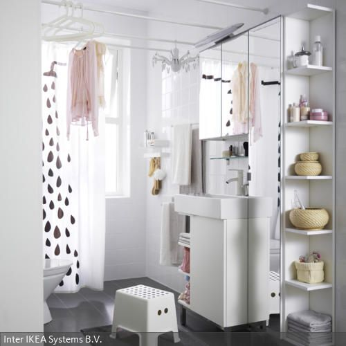 41 best Bad images on Pinterest Bathroom ideas, Live and - eckregal für badezimmer