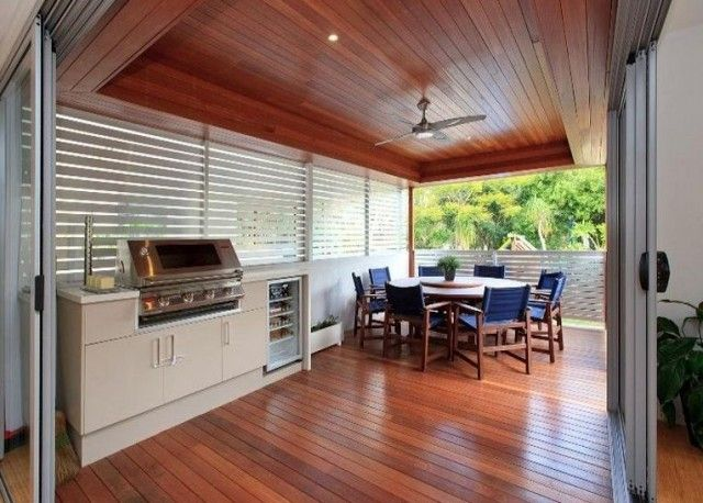 Image result for functional kitchens inside too open air