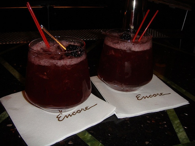 Sinatra Smash Cocktail @ Sinatra's Restaurant @ Encore