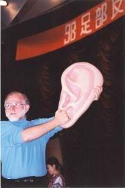 Ear Reflexology Workshop #Ear Reflexology Bill Flocco teaching 800 students in Beijing, China #Reflexology Certificate Course http://www.americanacademyofreflexology.com