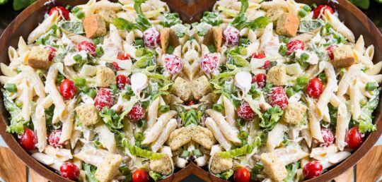 TOP RECEPTY: Těstovinový salát ala