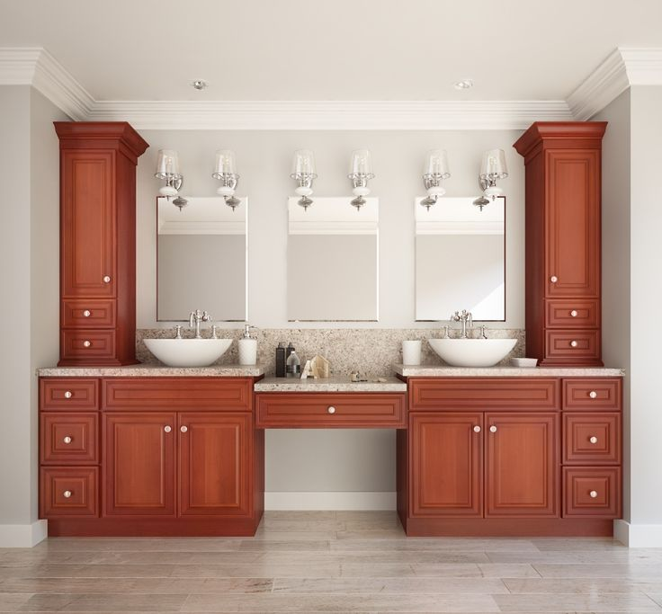 Glazed Toffee - Ready to Assemble Bathroom Vanities - Bathroom Vanities -  All Home Cabinetry