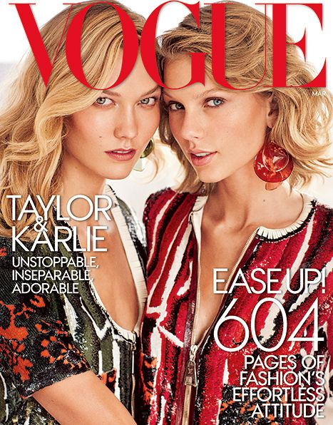 Taylor Swift, Karlie Kloss Cover Vogue, Play Best Friends Game: Video - Us Weekly