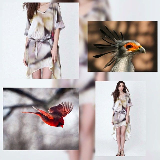 Inspire with nature's colors as we do! Amazing dresses by designer CAKO on Designrs.co. #inspire #outfit #look