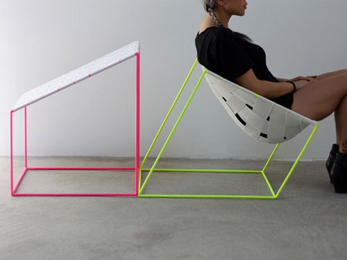 Diseño Industrial: Cómoda silla por William Lee