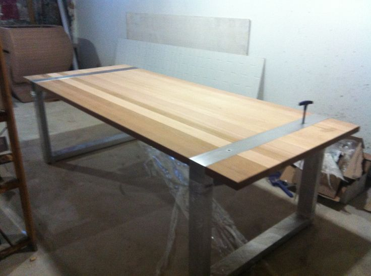 Table ext rieur en c dre de l ouest d montable pour for Table exterieur 3 metres