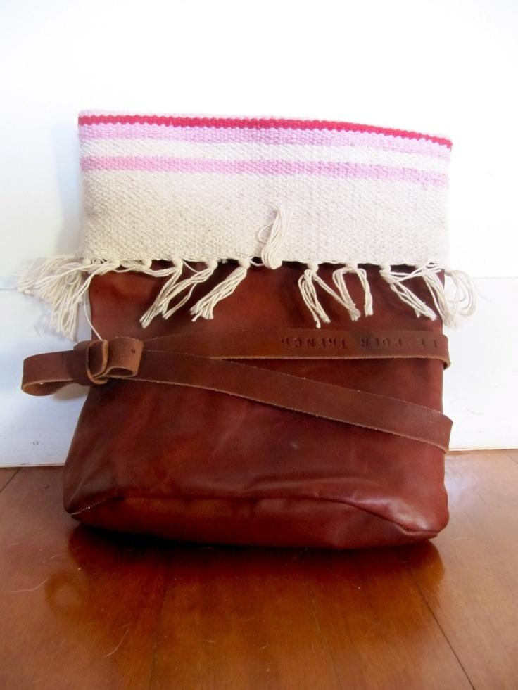 Le Poer Trench — Tribal Flop Clutch