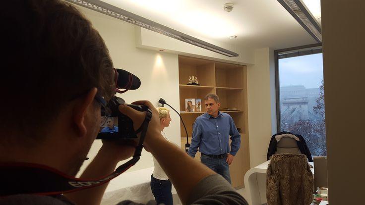 Egy újabb sikertörténet interjút készítettünk. // An another success story interview was recorded. http://www.budapestplasztika.hu/en