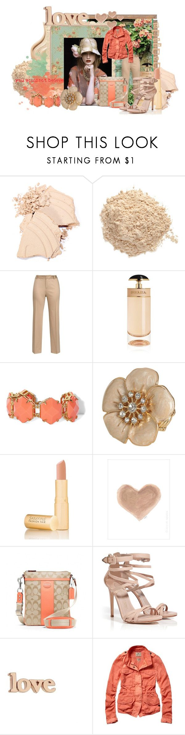 """""""Floral Tribute"""" by summersprinkle ❤ liked on Polyvore featuring Le Métier de Beauté, Lauren Ralph Lauren, Prada, Vince Camuto, Wet Seal, Fashion Fair, French Country, TEN, Coach and Le Silla"""