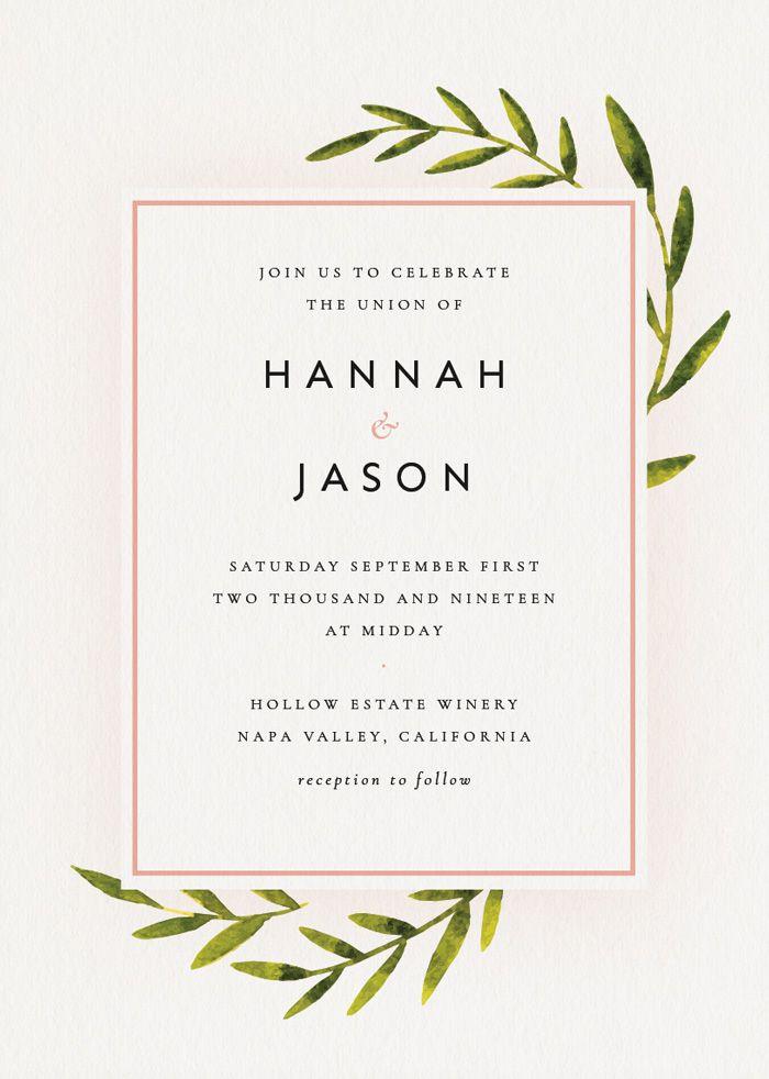 Wedding Invitation In Indesign