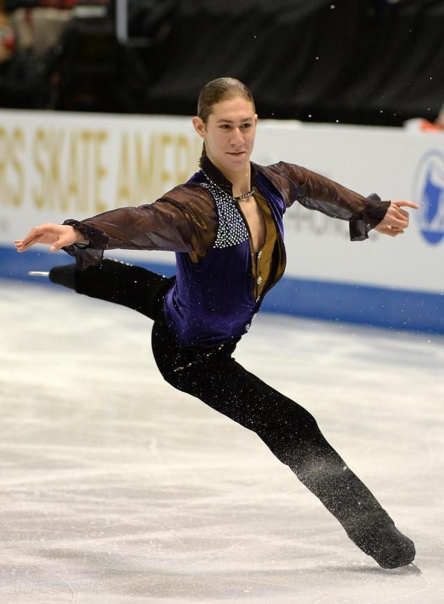 Men figure skating jumps