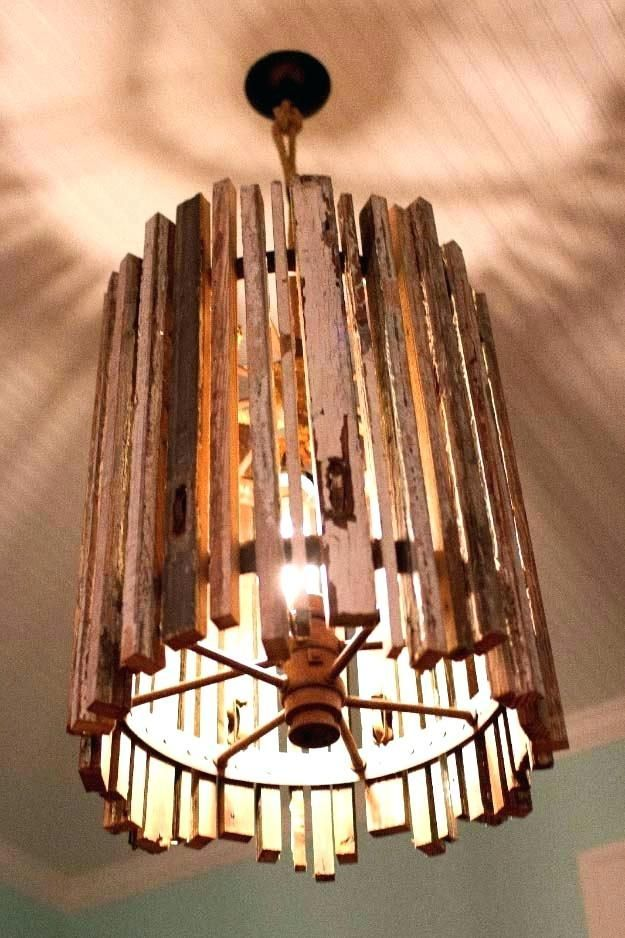 Unique Diy Lighting Diy Pendant Light Wood Light Fixture Wood