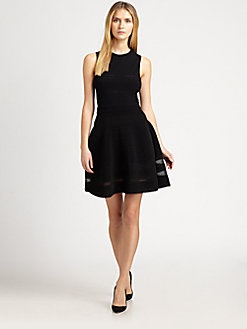 M Missoni - Sleeveless Rib-Stitch Dress