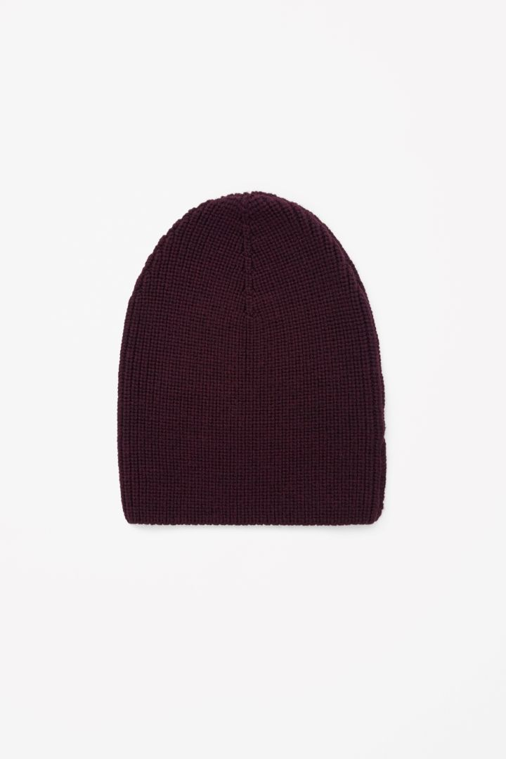 COS   Ribbed wool hat
