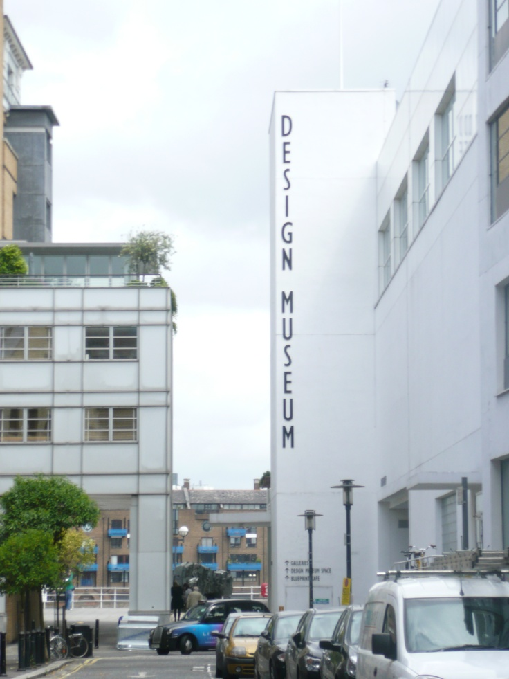 The Design Museum, London, UK. On the south bank of the Thames.