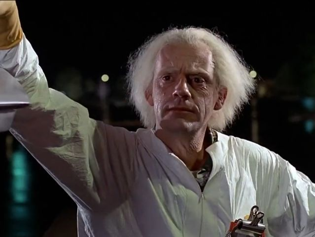 "I got: Emmett Lathrop ""Doc"" Brown! QUIZ: Which Back To The Future Character Are You?"