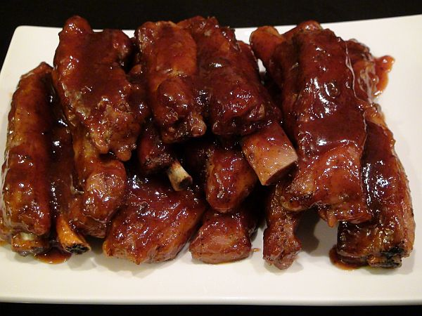 Smack Yo Mama Finger Lickin Grand Marnier Bar-B-Que Pork Ribs
