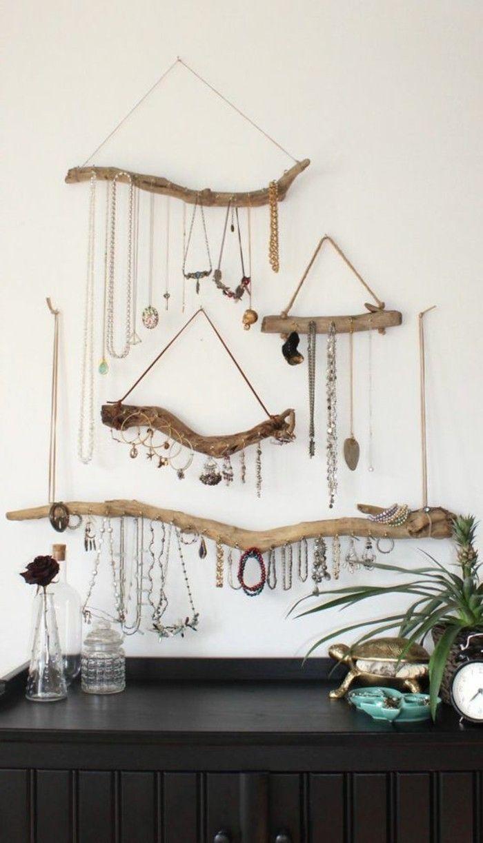 Créations En Bois Flotté création en bois flotté | rangement bijoux, bijoux en bois