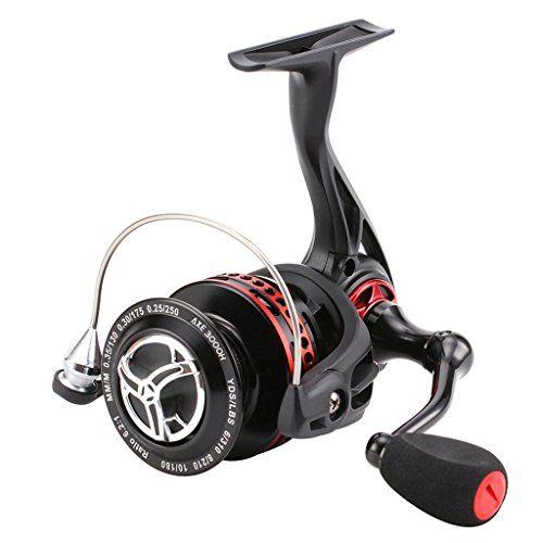 Comprar carrete de spinning Skysper 101BB 6.2: 1 Carretes de spincasting Spinning Carrete Pesca Izquierda Derecha Intercambiable Asa Plegable para la carpa de bajura y de agua salada Cebo