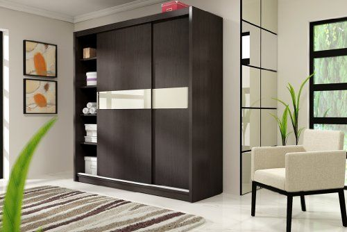 LUCCA 1 Stylish Bedroom Wardrobe Sliding Door