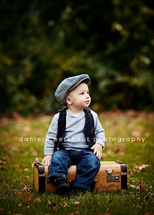 this may be the cutest little boy pose ever
