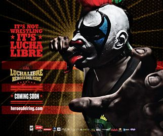 Lucha Libre Video Game Gets Ready to Tackle U.S. Market ~ illustration of Lucha Libre game