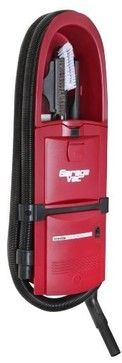 GarageVac Flush Mounted Garage Vacuum - Red - modern - Vacuum Cleaners - BuilderDepot, Inc.