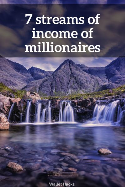 They say that millionaires have an average of 7 streams of income - I break it down and explain what that means and how you can do the exact same thing. | Millionaire Mindset | How to Become a Millionaire | Tips to Becoming a Millionaire | Millionaire Tips and Tricks || Wallet Hacks