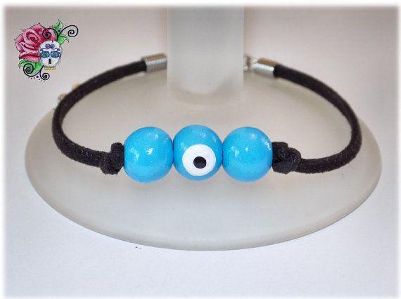 Bracelet Mauvais Oeil Protection Santé par ValniDesignsJewelry