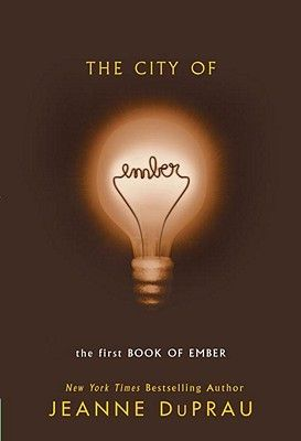 The City of Ember by Jeanne DuPrau. I just finished the series and its SOOOOO GOOD!