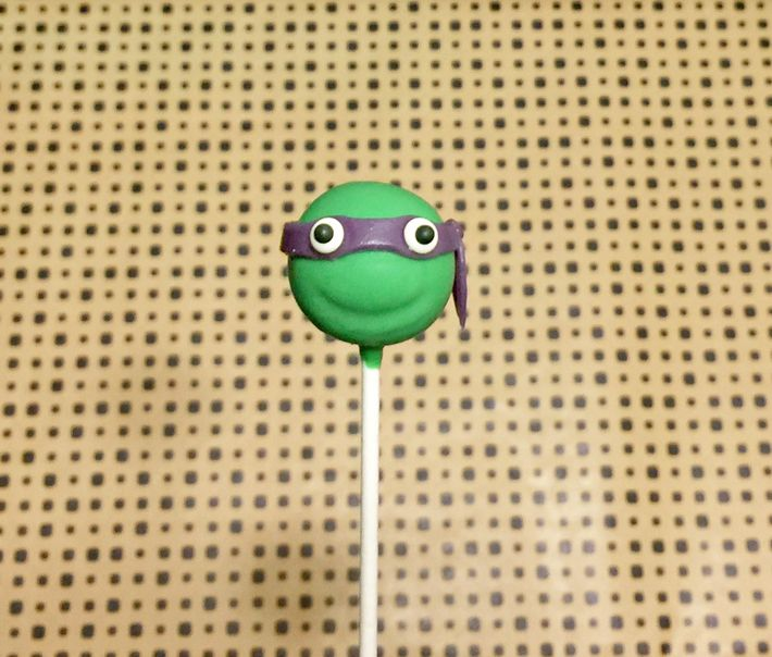 Ninja Turtle Cake Pops tutorial