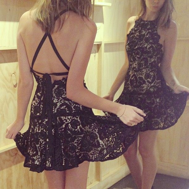 WEBSTA @ lover - FLAGSHIP STORE: 'Courtney' Lace Halter Dress. Now in store. Call: 02 9232 7289 Email: strand@loverthelabel.com
