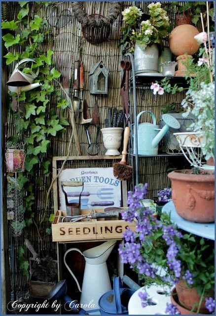 vintage garden tools