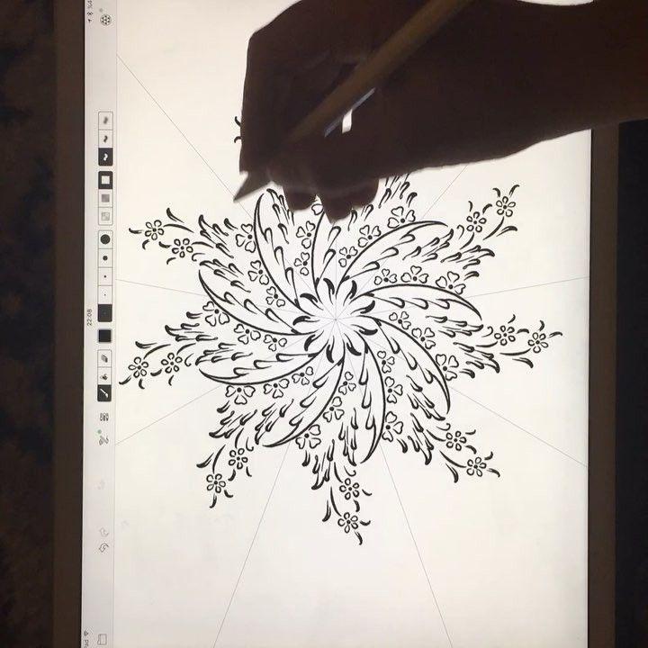 DILARA YARCI — #workinprogress #illumination #calligraphy #design...