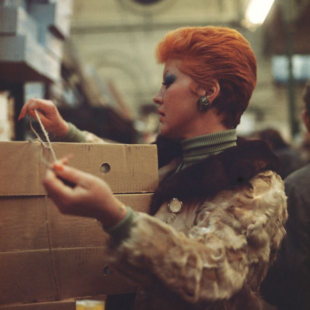 Covent Garden Market worker in the 1970s