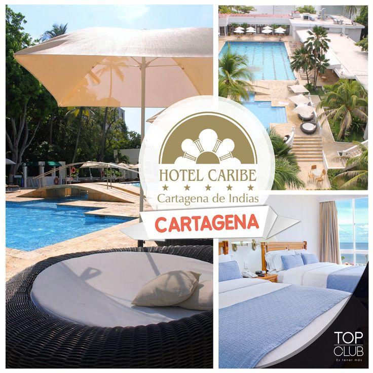 Considerado un monumento nacional por su arquitectura colonia el Hotel Caribe Cartagena y TopClub te ofrecen increíbles tarifas en alojamiento para que disfrutes por completo el caribe colombiano. Llámanos y realiza tu reserva con el 30% de descuento sobre tarifa publicada: (4) 444 02 05 - 01 8000 11 39 39 ó escríbenos un correo a: reservas@ccmtopclub.com #Cartagena #HotelCaribe #Ahorro #Descuento #TopClub