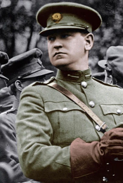 Michael Collins was an Irish patriot. He was a hero to many Irish people. Brave, loyal, and filled with a great love for his country, he was willing to do anything to help them. Even if it meant sacrificing himself.