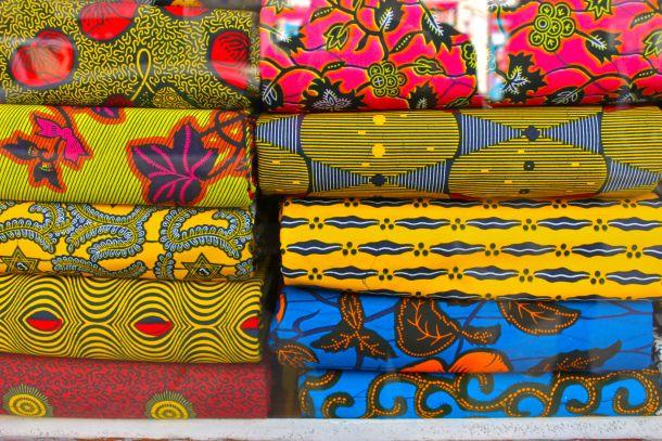 Africa in Paris in la Goutte d'Or quartier