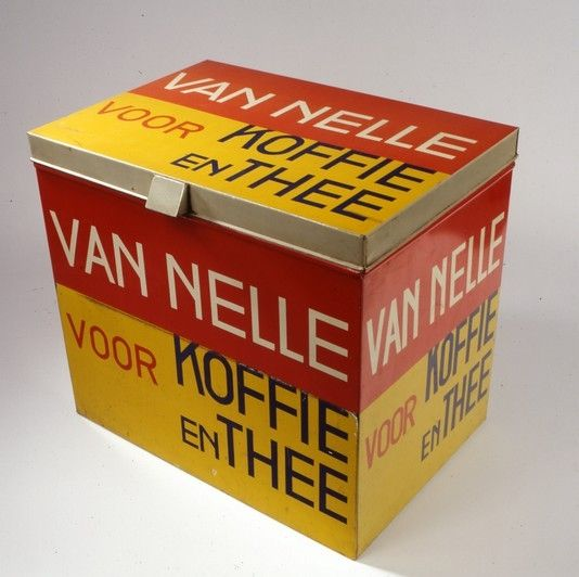 Jac. Jongert, Voorraadblik 'Van Nelle voor Koffie en Thee', 1930. Museum Boijmans Van Beuningen, Rotterdam
