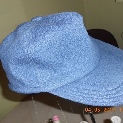 Make a Cap from Old Jeans