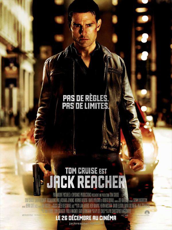 Jack Reacher est un film de Christopher McQuarrie avec Tom Cruise, Rosamund Pike. Synopsis : Un homme armé fait retentir six coups de feu. Cinq personnes sont tuées. Toutes les preuves accusent l'homme qui a été arrêté. Lors de son interrogato