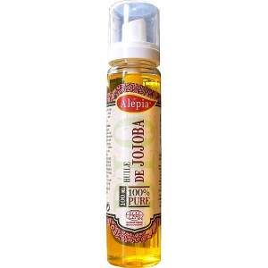 Alepia - olej jojoba - Organiczny olej Jojoba jest wskazany do stosowania dla:  - Skóry mieszanej, młodej - rozpuszcza sebum oraz reguluje proces jego wydzielania, poprawia ogólny stan skóry, nadaje jej zdrowy i promienny wygląd.  - Cery suchej, zmęczonej i dojrzałej - jest bogatym źródłem ceramidów, które utrzymują wodę w naskórku i dzięki temu doskonale ją nawilżają.