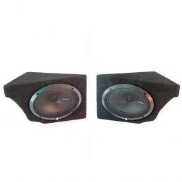 Corvette Custom Rear Speaker Cabinets With Speakers, 1968-1977