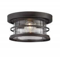 "Savoy House 5-369-13-13 Barrett 13"" Outdoor Ceiling Light in English Bronze"