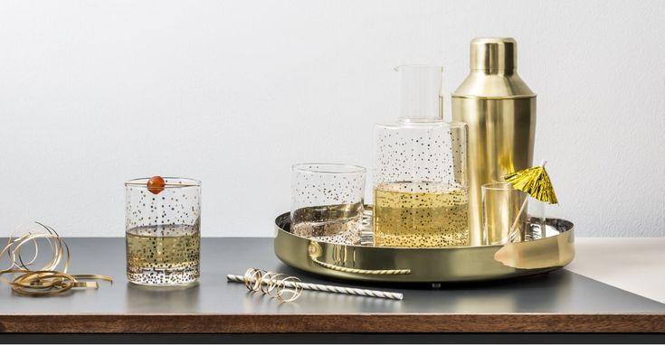 AFFILIATELINK | Blaze Cocktail Shaker, Messing gebürstet | Skandinavisch, Desig …   – Küche | DIY, Deko und Einrichtung