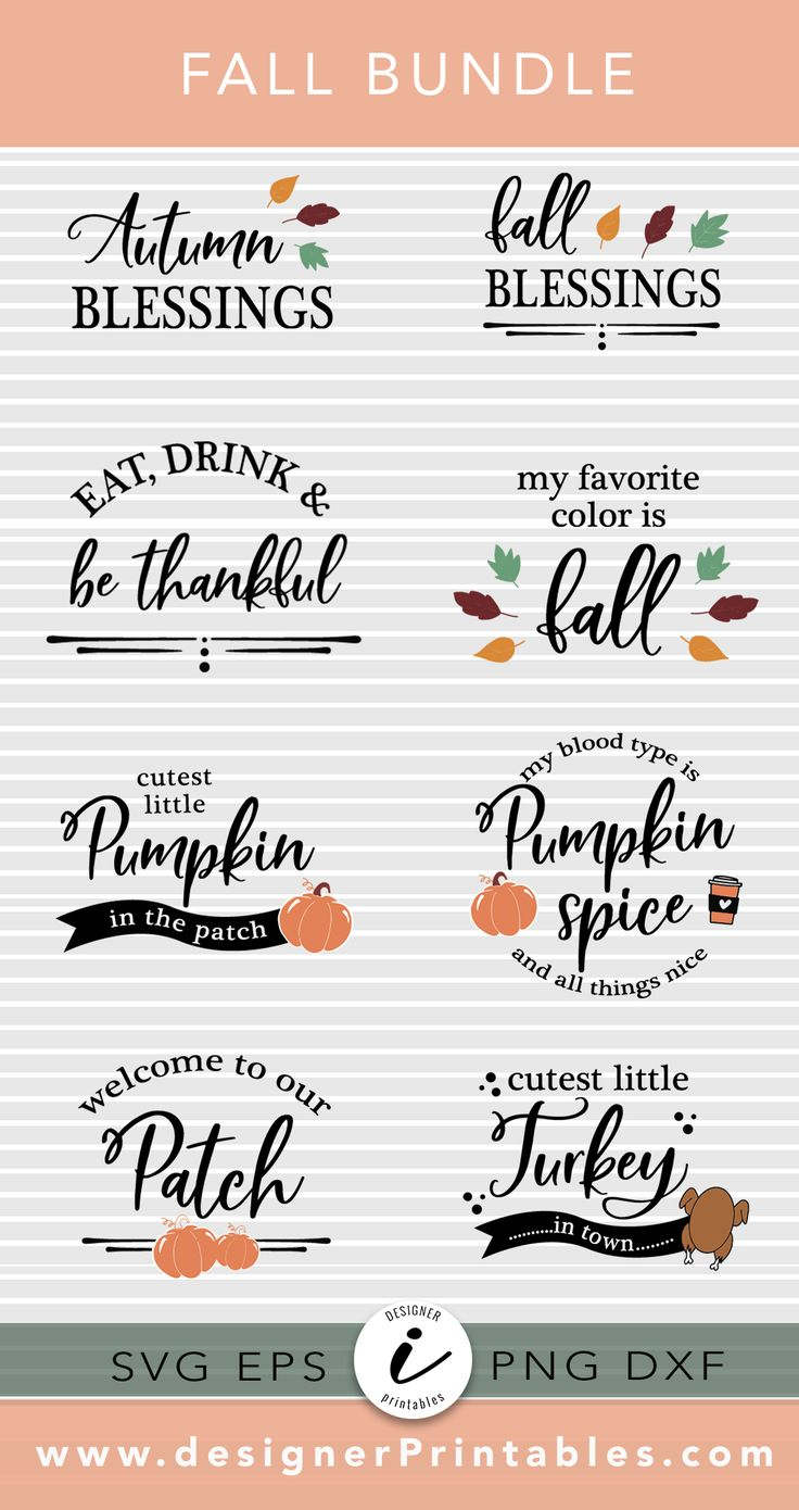 Fall SVG Bundle 2