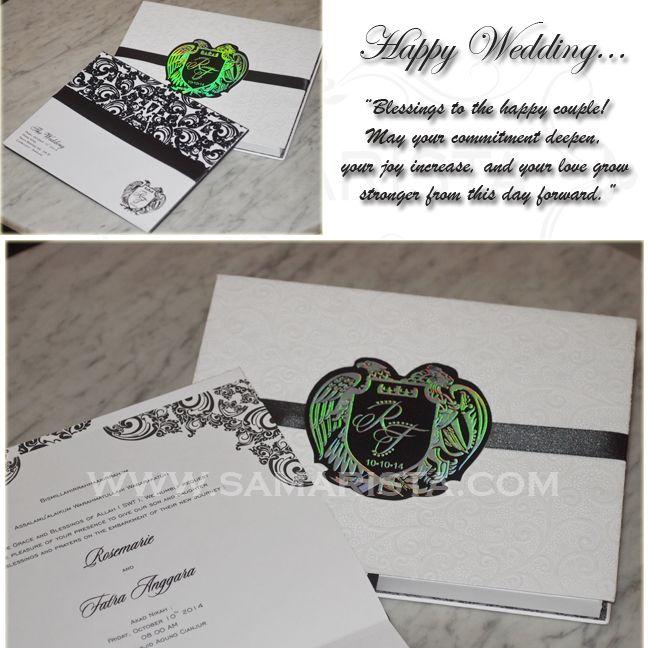 Happy Wedding for Wonderfull Couple ❣  ❦ Rosemarie & Fatra Anggara ❦   ~10 Oktober 2014~  Info & Pemesanan Kartu Undangan Hub : 022-5223378/70706073 Jl. Pasirluyu Timur No. 155-157 Bandung... Cetak Cepat & Rapi, Harga Murah bs disesuaikan dgn budget, Desain dpt dirubah sesuai keinginan..  #kartu #undangan #pernikahan #samarista #wedding #invitation #card #hard #soft #cover #perkawinan #best #seller #cetak #cepat #murah #jasa #pesan #acara #khitanan #brosur #souvenir